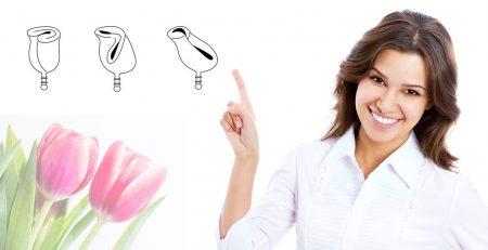 Tipuri de pliere cupe menstruale