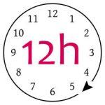Cupa menstruala durata de utilizare este de pana la 12 ore