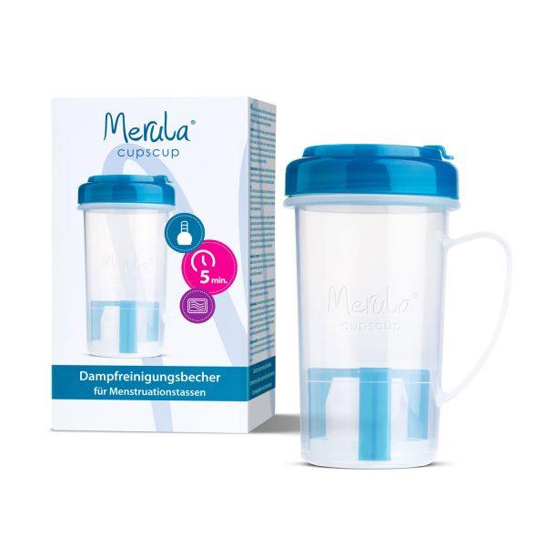 Recipient sterilizare cupa menstruala Merula Cupscup